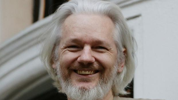 Julian Assange is holed up at the Ecuadorian embassy in London