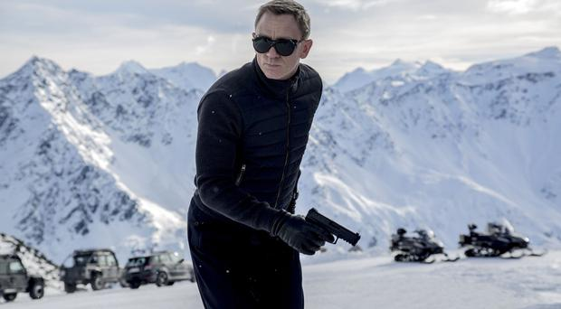 Daniel Craig as James Bond in the latest film in the series Spectre - new scenes will be filmed in Mexico City