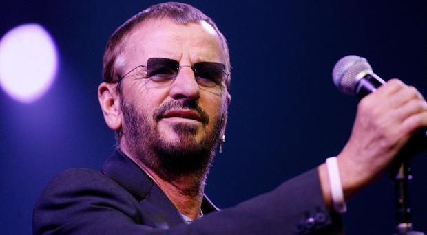 Ringo Starr is the last ex-Beatle to be honoured individually