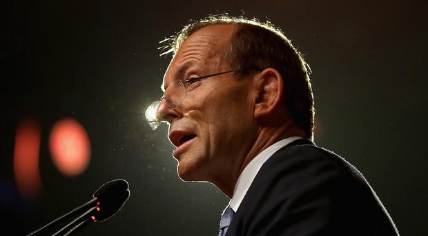 Tony Abbott told Parliament that Labour Party leader Bill Shorten was 'the Dr Goebbels of economic policy'