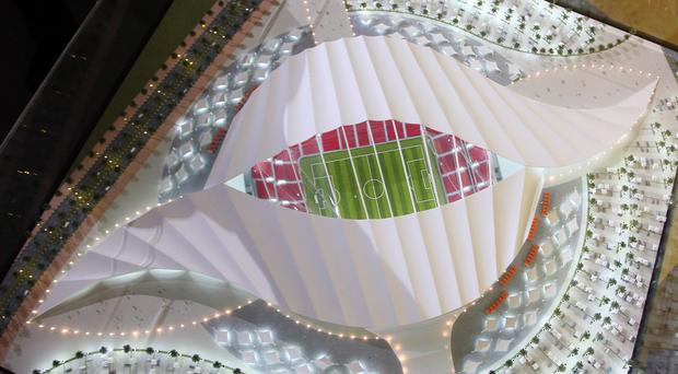 The 2022 Fifa World Cup final will be staged on December 18 (AP Osama Faisal)