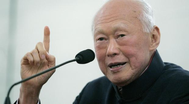 Lee Kuan Yew has died at the age of 91 (AP)