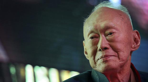 Lee Kuan Yew has died at the age of 91, (AP)