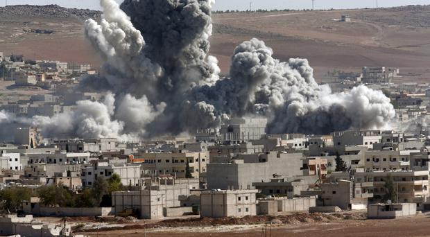 The fight against IS continues in Syria (AP)