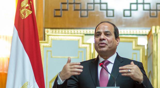 Egyptian President Abdel Fattah el-Sisi has endorsed the creation of a joint Arab military force to intervene in Yemen