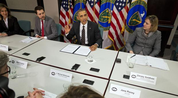 The White House's contribution to the treaty codifies a commitment President Barack Obama first made late last year (AP)