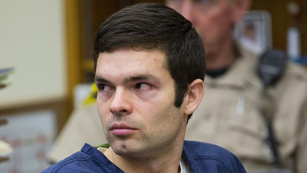 Kevin Bollaert sits in court during his sentencing hearing (AP/U-T San Diego)