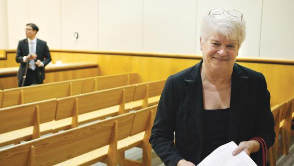 Nearly half the money donated to Barronelle Stutzman came in the past few days (AP/The Tri-City Herald)