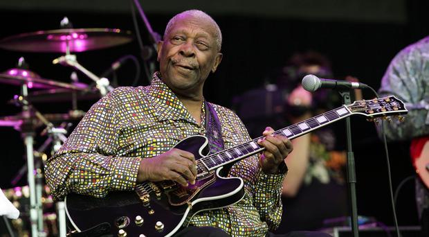 US blues musician BB King has been treated in hospital for dehydration
