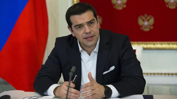 Alexis Tsipras was elected prime minister of Greece in January (AP)