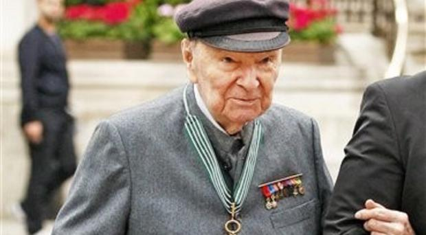 Jean-Louis Cremieux-Brilhac hailed Britain's help in freeing occupied France (AP)