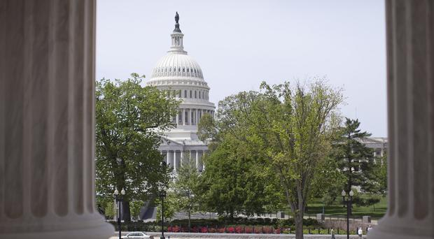 Shots were said to have been fired near the Capitol building