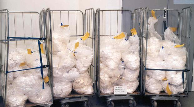 Mexican authorities have struck a blow against the cocaine trade