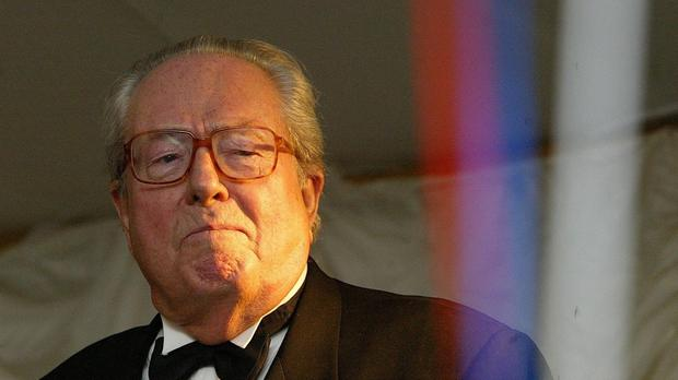 Jean-Marie Le Pen says it is below his 'dignity' to be disciplined by the party he founded