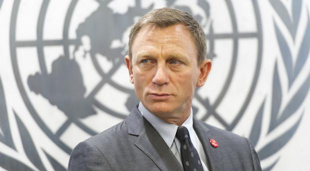 Daniel Craig at the UN in New York City (AP/United Nations)