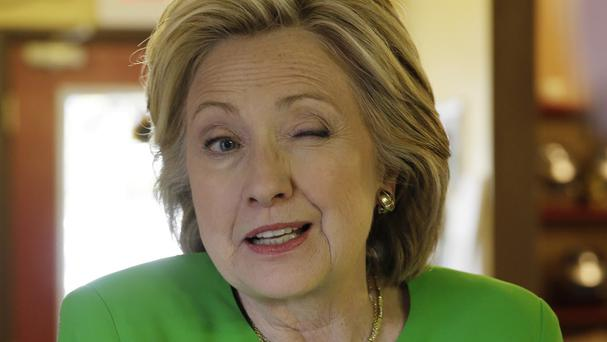 Democratic presidential candidate Hillary Clinton was questioned by congressional investigators about her use of a personal email address more than two years ago. (AP)