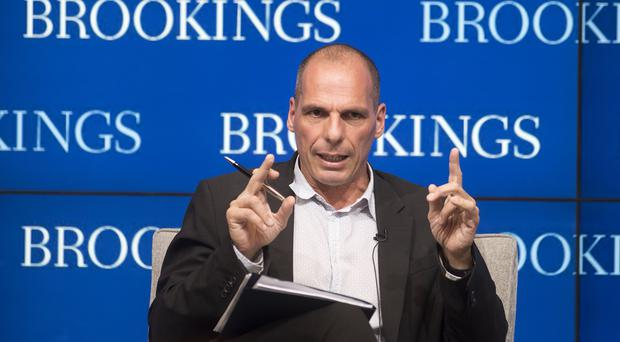 Yanis Varoufakis said his government was elected to challenge the logic of a programme that had failed (AP)