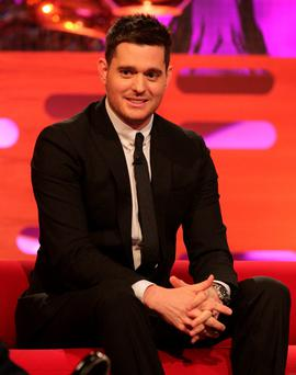 Under fire: Michael Buble
