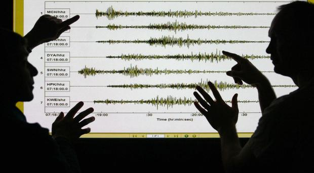 An earthquake triggered an advisory for a tsunami in Japan which was lifted after just over an hour