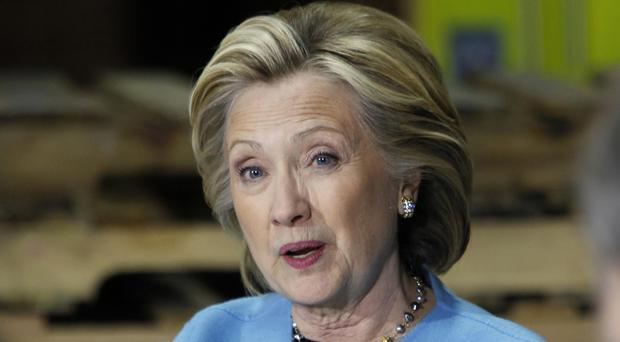 Hillary Clinton hit back at claims her family foundation received cash in return for favours (AP)