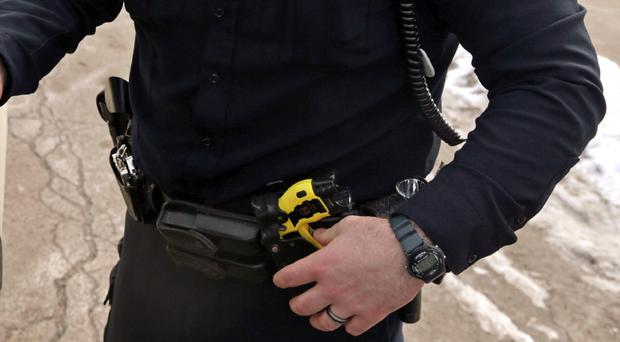 Robert Bates was carrying a Taser and a handgun when officers stopped Eric Harris. (AP)
