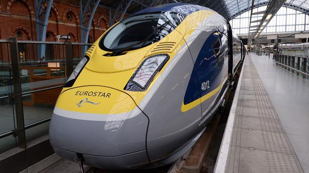 Eurostar services from London to Brussels are being affected by the strike