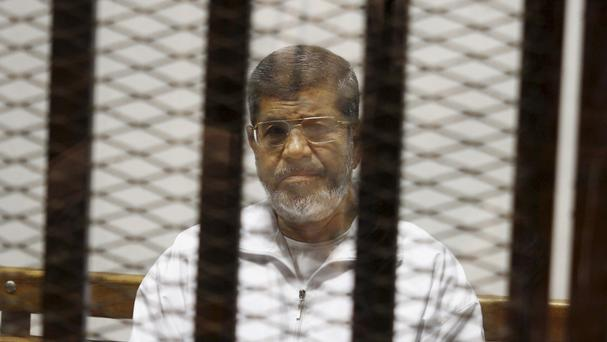 Egypt's ousted president Mohammed Morsi has been sentenced to 20 years in prison. (AP)