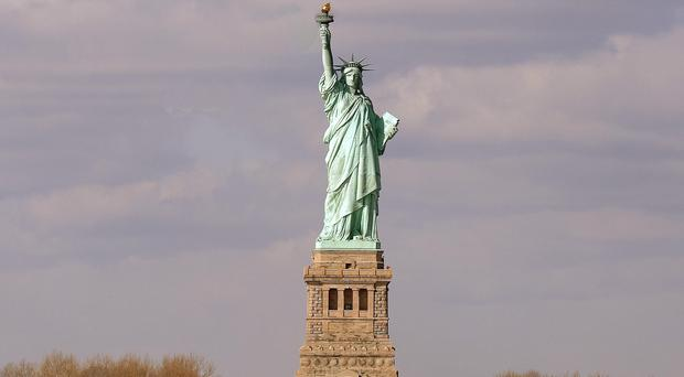 The Statue of Liberty was evacuated
