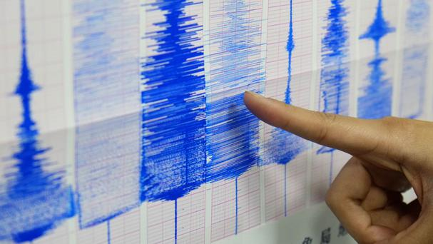 A strong earthquake has hit near Nepal's capital of Kathmandu (AP)