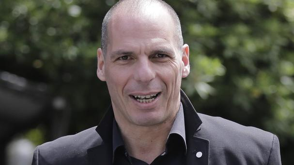 Greek finance minister Yanis Varoufakis became known for his outspoken style and prolific media appearances (AP)