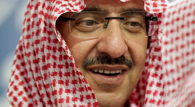Saudi interior minister Prince Mohamed bin Nayef is now the most likely successor to King Salman (AP)