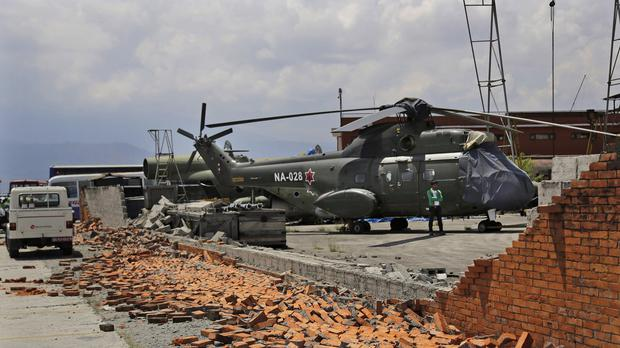 Rescue efforts are continuing five days after the disaster (AP)