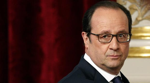 French President Francois Hollande said any sanctions against guilty soldiers should correspond with the gravity of the crime (AP)
