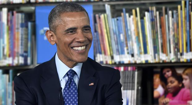 Barack Obama taught at the University of Chicago before becoming president (AP)