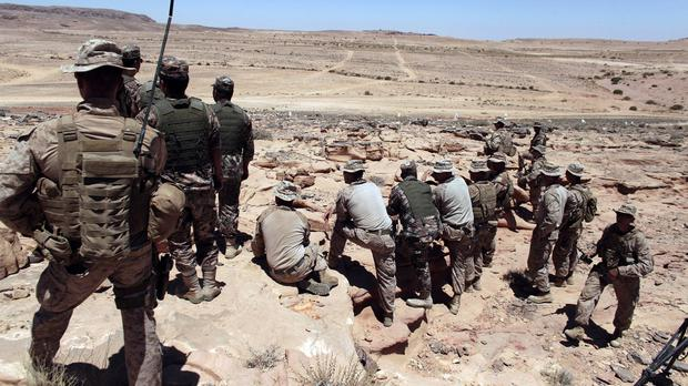 The training of Syrian rebels has started in Jordan (AP)