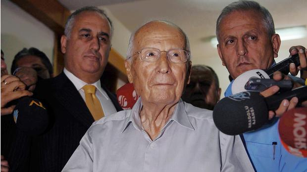 Turkish general Kenan Evren has died aged 97 (AP)