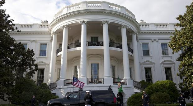 A man was arrested after trying to fly a drone near the White House (AP Photo/Carolyn Kaster)
