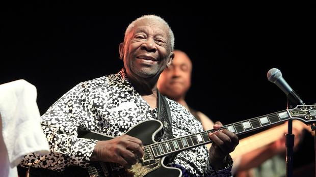 BB King died in his sleep at his Las Vegas home at the age of 89, his lawyer said. (AP)