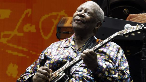 Blues great BB King (AP)