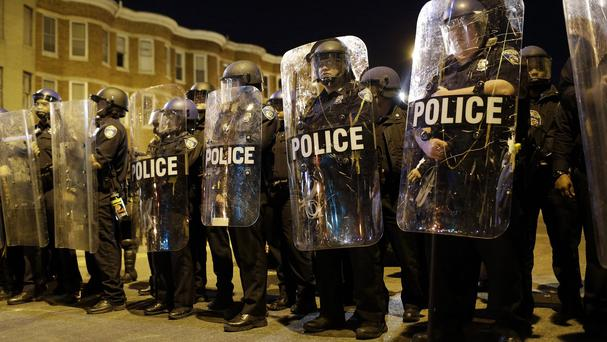 The death of Freddie Gray sparked major unrest in Baltimore. (AP)