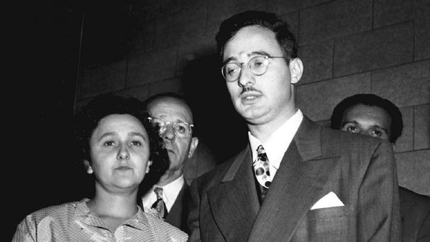 Ethel and Julius Rosenberg were sent to the electric chair in 1953 for conspiring to give nuclear secrets to the Soviet Union (AP)