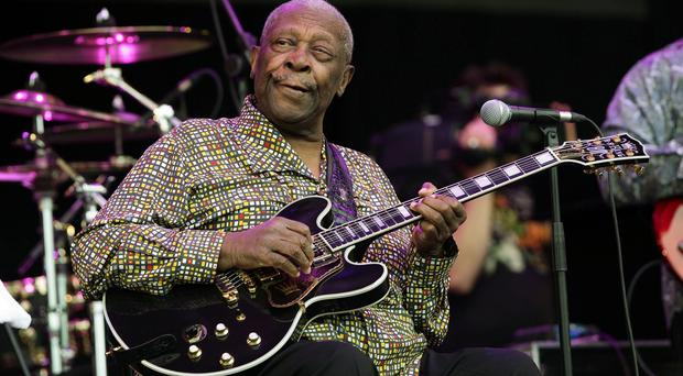 Blues musician B.B. King died in Las Vegas aged 89