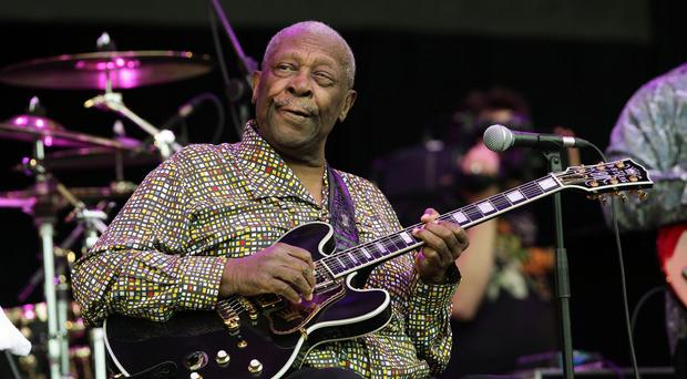 BB King died in Las Vegas earlier this month aged 89