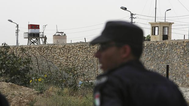 Unknown militants in the Gaza Strip have fired a rocket into Israel (AP)