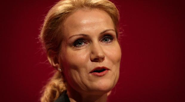Helle Thorning-Schmidt is the first female prime minister of Denmark