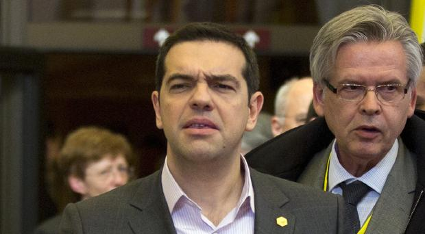Greek prime minister Alexis Tsipras said his country was close to reaching a deal with its creditors (AP)