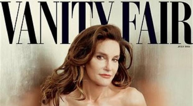 Bruce Jenner debuts as a transgender woman named Caitlyn on the cover of Vanity Fair in a photo taken by Annie Leibovitz (Annie Leibovitz/Vanity Fair/AP)