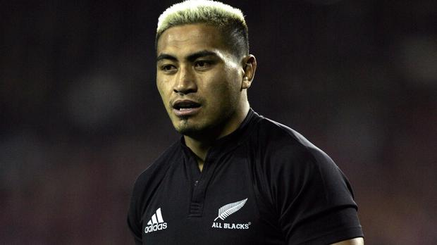 Jerry Collins in action during a New Zealand v British and Irish Lions match in Auckland