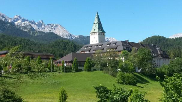 G7 leaders are holding the summit at the Schloss Elmau hotel in Germany