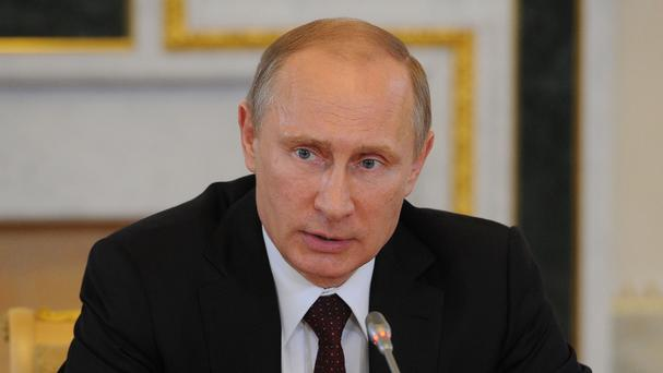 Russian President Vladimir Putin is in Italy to meet the Pope